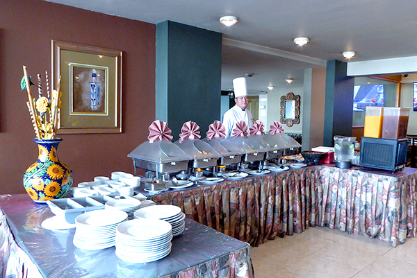 Los Girasoles buffet Son-Mar